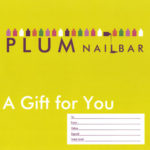 Plum Nail Bar Gift Voucher