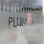 Plum Nail Bar window